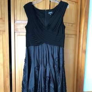 Adrianna Papell Dress Black size 14
